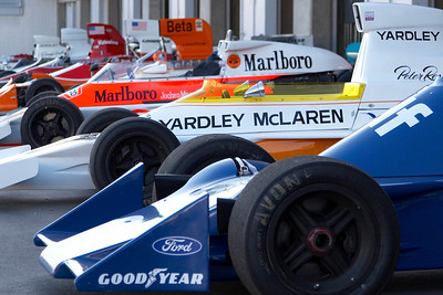2006 Monterey Historics - Paddock - F1 Cars