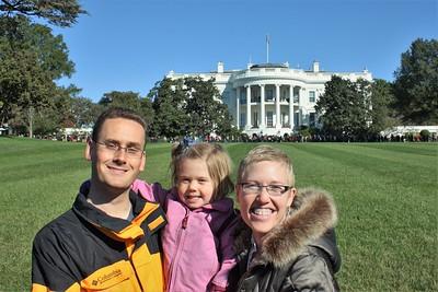 White House Lawn Tour - October 2015