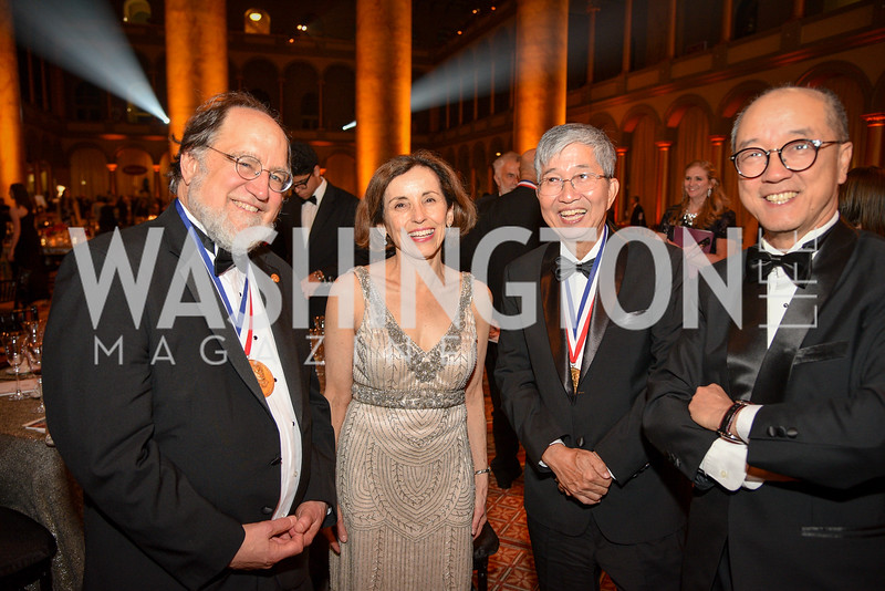 Dr. Ronald Rivest, Dr. Ching Wan Tang, National Inventors Hall of Fame, Induction at the National Building Museum, May 3, 2018-9025.JPG
