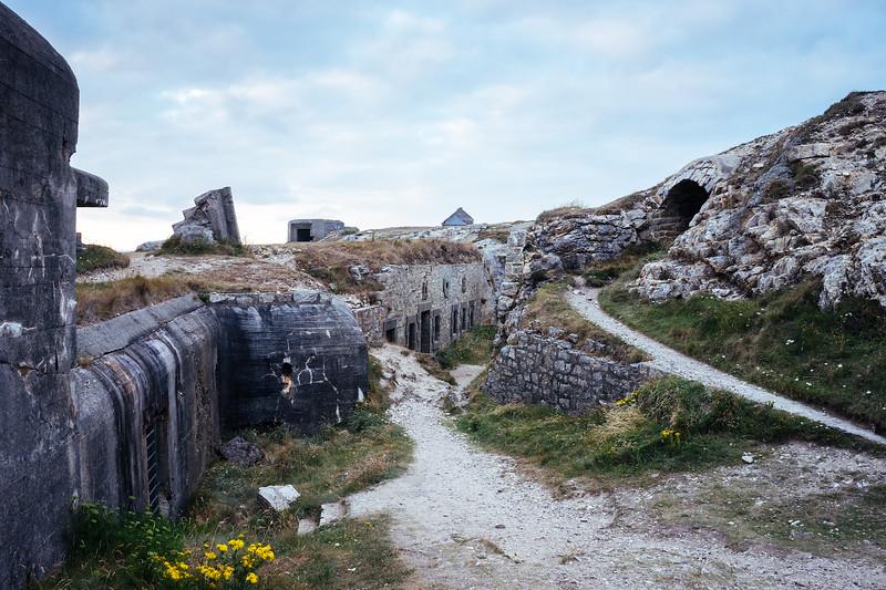 Crozon peninsula - Memorial Pointe de Pen Hir, Battle of the Atlantic