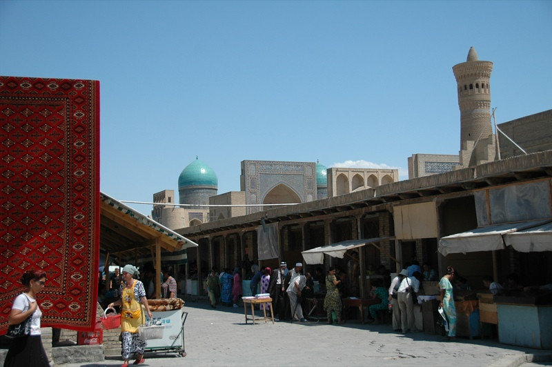 Weekend Markets in Bukhara, Uzbekistan