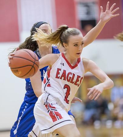 2017 East Rockingham Varsity Girls vs Madison County