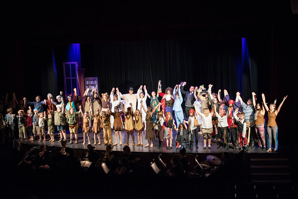 Kid Cast LCHS {Peter Pan 2018}