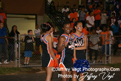 09-24-2010 Watkins Mill HS Band, Varsity Cheerleading, Poms, Photos by Jeffrey Vogt Photography