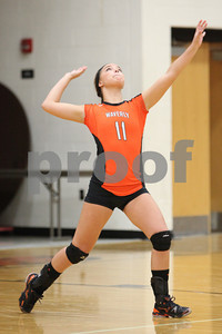 WHS Volleyball vs South Webster 9-11-12