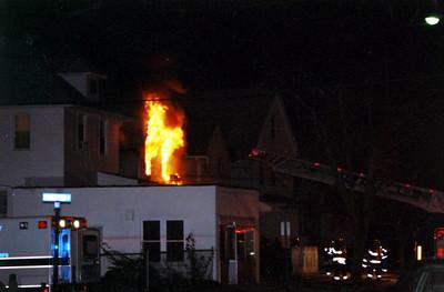Hackensack 3rd alarm Kanas St. Dec.5, 2005