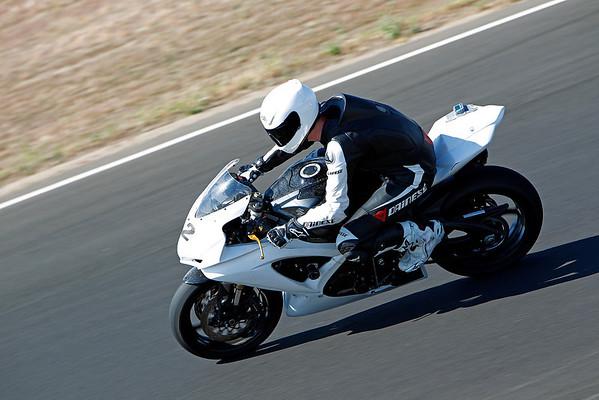 #12 - White GSXR