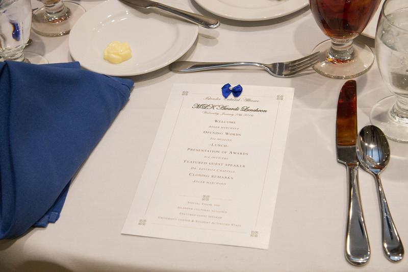 MLK Awards Luncheon.