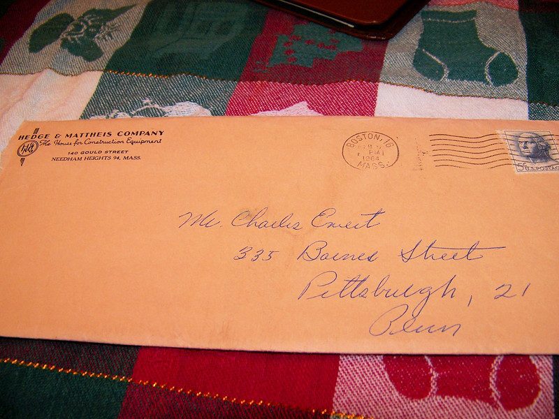 The original envelope.