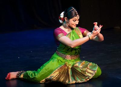 Dakshina Vaidyanathan's  performance at La Mama Theatre , New York