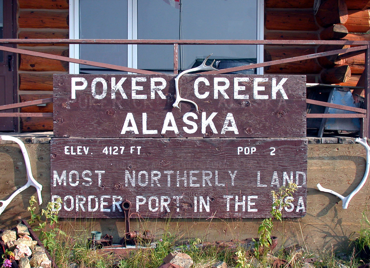 Poker Creek Alaska Border