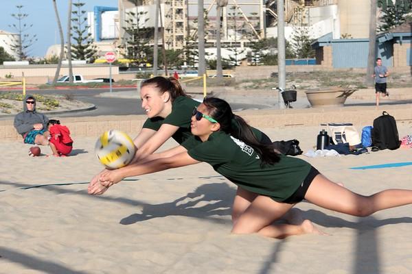 EHS vs Marina HS Girls Beach VB Mar. 4, 2020 (Album 1)