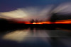 Sunset Blur ~ Abstract Image