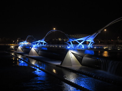 Tempe Town Lake at Night with Canon G1 X
