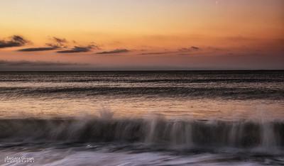 """Crashing Waves"" - Oak Island, NC"