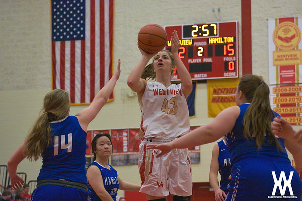 Girls Basketball vs. Hamilton