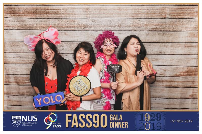 NUS FASS 90th Anniversaryl   © SRSLYPhotobooth.sg