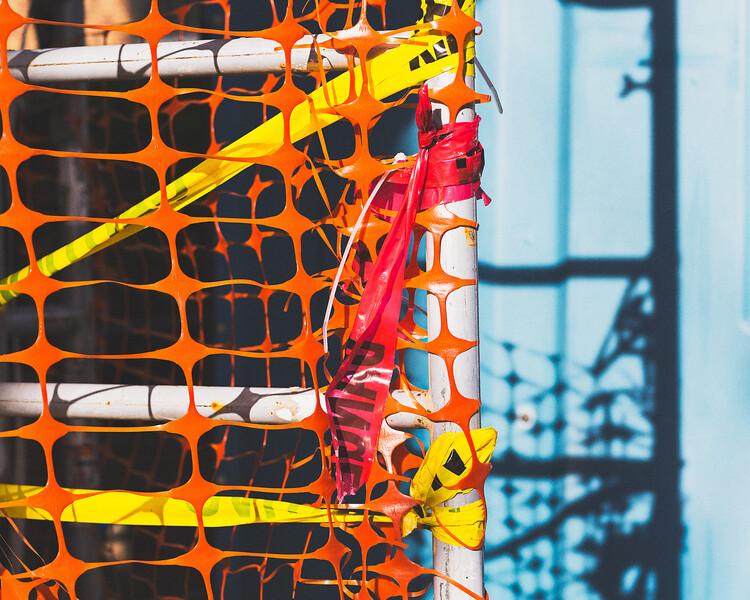 Orange Netting