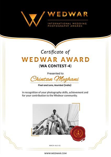 WedWar Award