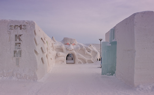 The SnowCastle