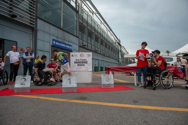 Dopo la gara e Premiazioni