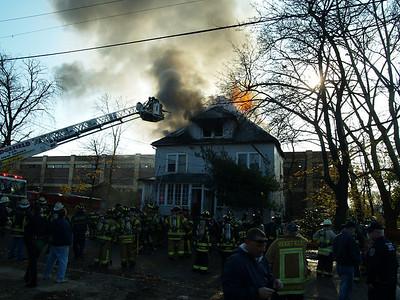 11-22-09 Ridgefield, NJ - 4th Alarm