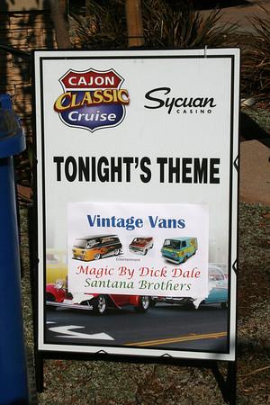 El Cajon Classic Car Show 8/14/13 featuring Vintage Vans