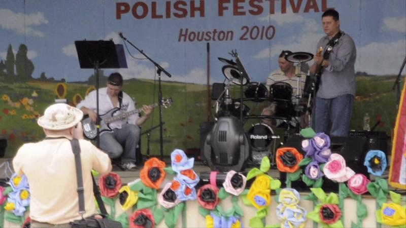 Dancing At The 4th Annual Houston Polish Festival.  4th Annual Polish Festival Houston, Texas May 1, 2010