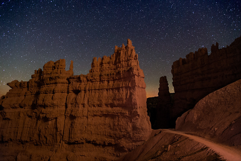 The Fortress, Along the Navajo Trail