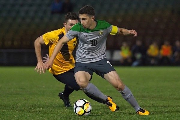 Young Socceroos v WA State Team