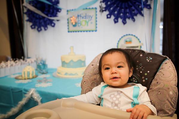 Birthday Party // Adrian's 1st
