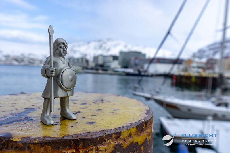 March 2019: Port of Hammerfest, Norway