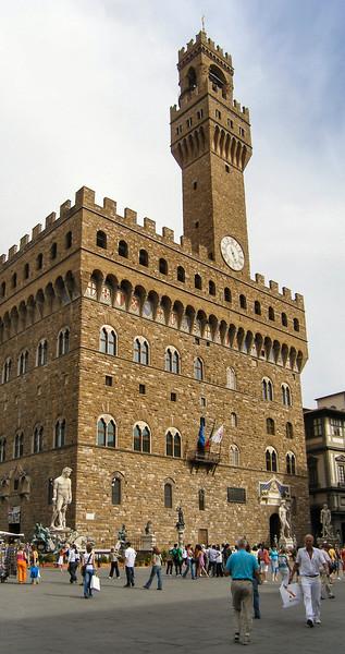 Piazza della Signoria-Palazzo Vecchio