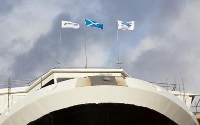 MV Glen Sannox Launch