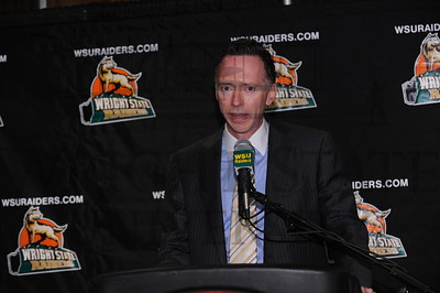 5028 Press Conference for Billy Donlon Men's Basketball coach 4-14-10