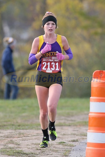 1.2 Miles, D4 GIRLS - 2017 MHSAA LP XC FINALS
