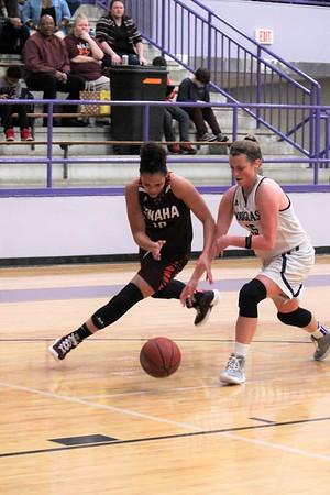 Tenaha vs Douglass Girls' Playoff Basketball