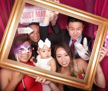 Michelle & Thanh Photobooth Photos