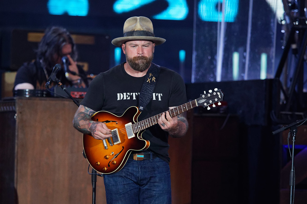 . Zac Brown Band live at Comerica Park on 7-14-2018. Photo credit: Ken Settle