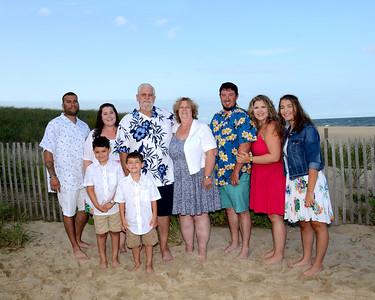 Ramiz Family Beach Portraits Aug. 20, 2018