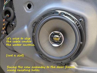 2008 Jaguar X-Type Estate Front Door Speaker Installation - France