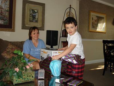 Mitch's 8th Birthday - April 2006