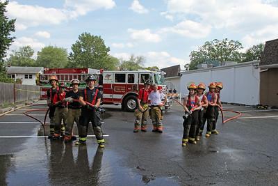 Northvale Fire Department Wetdown