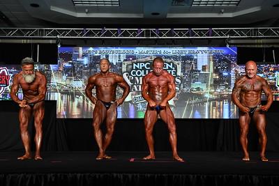 Men's Bodybuilding Masters 60+ LHW