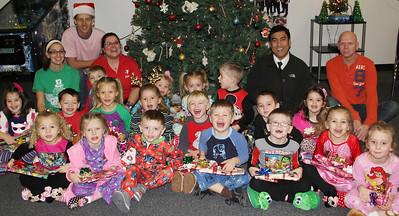 Kids Preschool Christmas Party, YMCA, Tamaqua (12-19-2013)