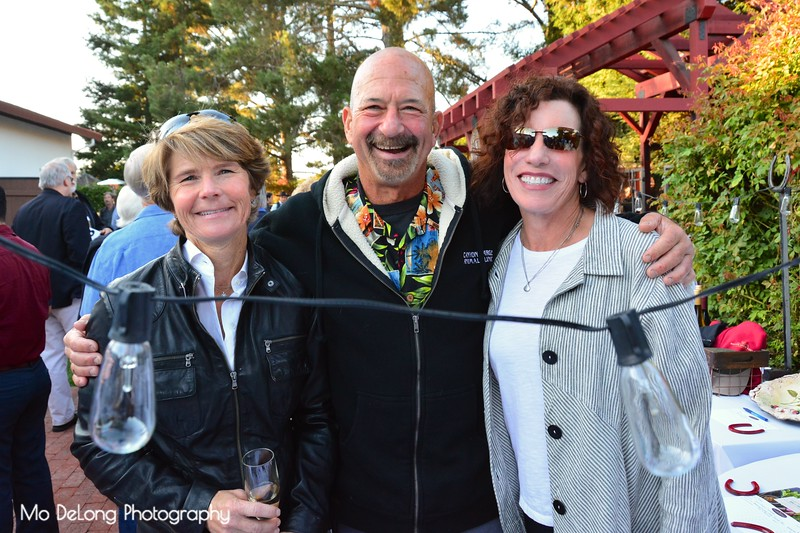 Sandy Bonelli and Marc and Jean Horrell