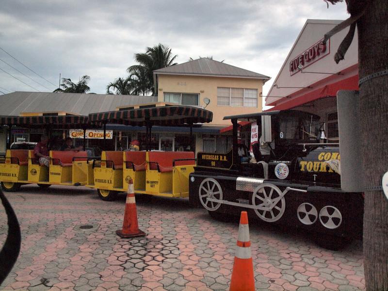 Train Tour, Key West, Florida