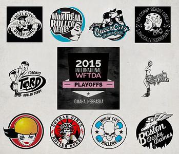 WFTDA D1 playoffs OMAHA 2015
