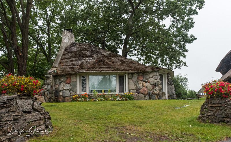 Mushroom Houses of Charlevoix, Michigan