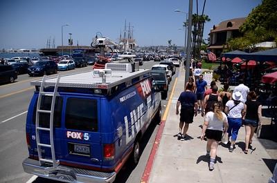"""Impeach Trump"" March - San Diego"